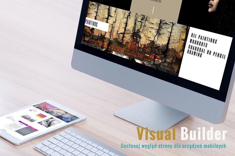 Kreator graficzny i wygląd strony na urządzeniach mobilnych